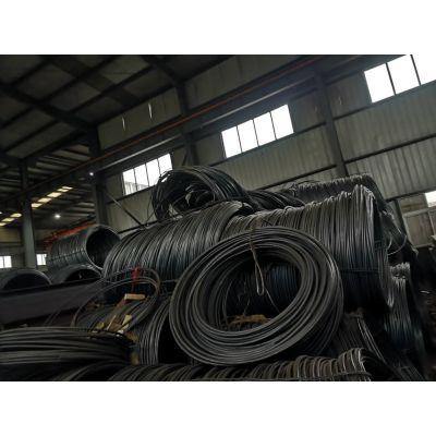 昆山 【宝钢 现货生产】【Q345D线材 直径8个厚 】上海提货 可直接拉成圆钢
