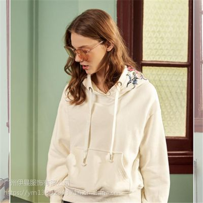 广州品牌18款 朵以冬装 简单时尚专柜正品品牌折扣尾货女装批发