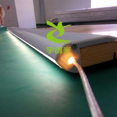 宇创YC2835LED长条形阶梯踏步灯6063铝合金外壳 PC灯罩发光 LED楼梯照明线条灯厂家直销
