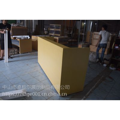 木质烤漆华为小米展示柜收银台配件柜体验台节能组装定制