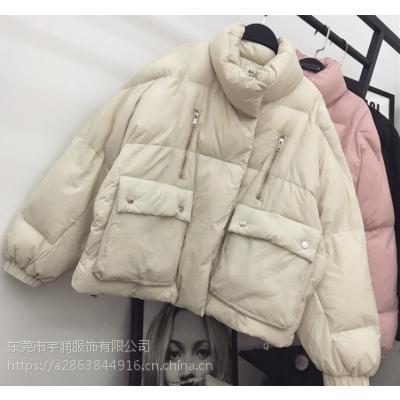 15-30元棉服批发女式羽绒服清货厂家低价清货杂款棉衣中长款外套清仓