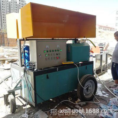 铄奇机械全智能建筑机械小型电动高压喷涂机 现浇墙体水泥发泡机