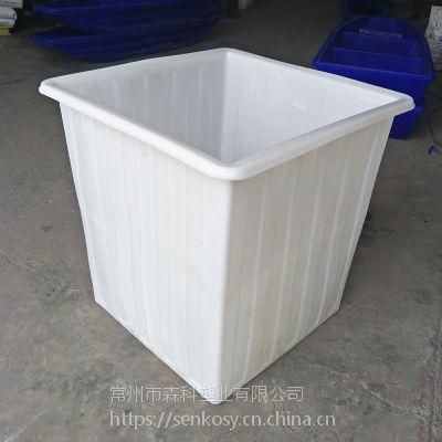 PE材质1000L塑料方箱 耐摔耐磨牛筋方桶 滚塑1米正方形储水漂洗塑料桶