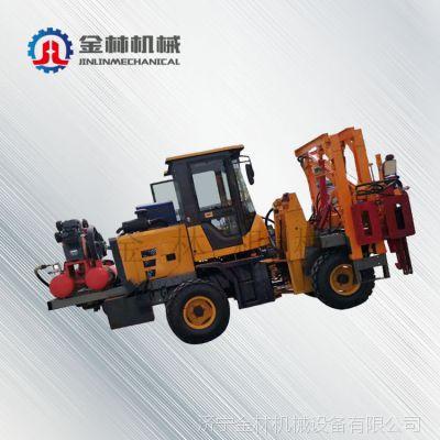 山东省煤矿工人好帮手打桩钻孔一体设备 高速公路打桩钻孔机