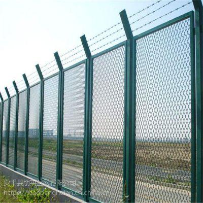 朋英 专业生产桥梁防眩晕网 钢板网护栏 镀锌喷塑