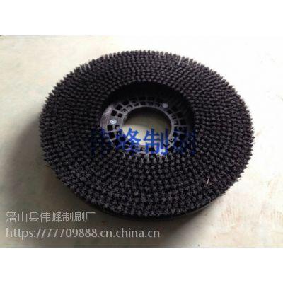 坦能T7洗地机针盘针座刷盘16寸针盘钢丝刷盘