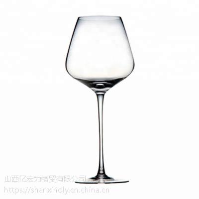 HOLY定制高脚拉挺波尔多酒杯人工吹制大容量大肚现货水晶玻璃红酒杯