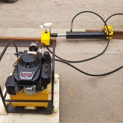 厂家直销单缸拉伸机 YLS-900型液压钢轨拉伸器 单缸钢轨拉伸机