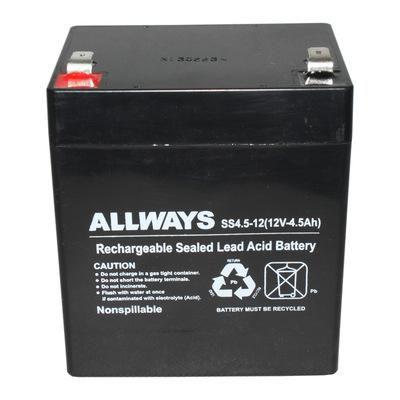 ALLWAYS蓄电池SS7.5-12UPS不间断蓄电池厂家