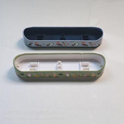 信拓塑料小船水转印加工 镭射烫金水贴纸订制 丝网印刷水标贴纸加工