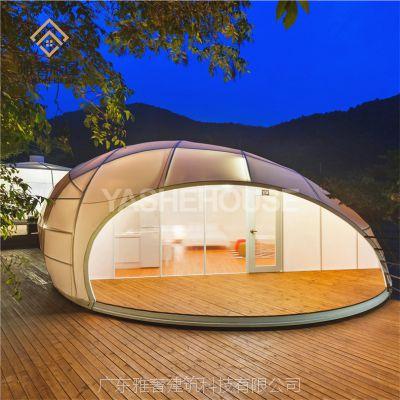 云南帐篷酒店 户外野奢豪华帐篷酒店 一房一厅 营地景区特色帐篷屋