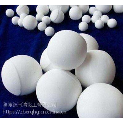 新润清微晶耐磨氧化铝球石 高铝球 研磨球 填料球