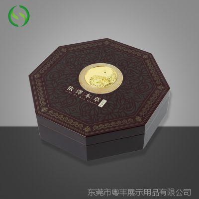 东莞厂家直销专业定制礼品包装盒   品质款圆形木质保健品礼盒高