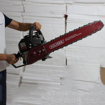 链条式带移苗机 佳鑫土球手提式挖树机 新款起树苗机