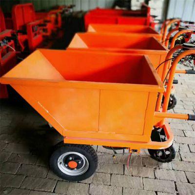 矿用电动三轮车卡博恩直销农用电动拉货搬运小推车灰斗车