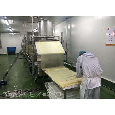 双层腐竹加工设备厂 加工腐竹油皮的设备多少钱一套 大型腐竹生产线视频