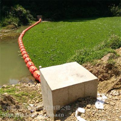 河灌区拦污设备泵站进水口拦污浮排价格