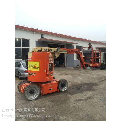 进口升降机 高空作业车租赁 10米E300AJ曲臂式液压升降平台车