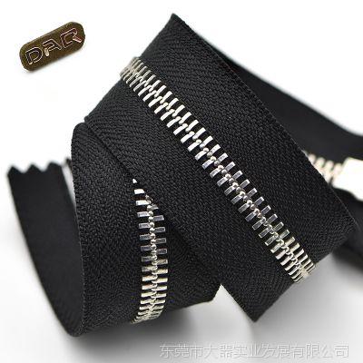 DAQ大器拉链:5#加强型Y牙鞋靴拉链 短靴马靴内外腰铜质拉链 优质金属拉链定制