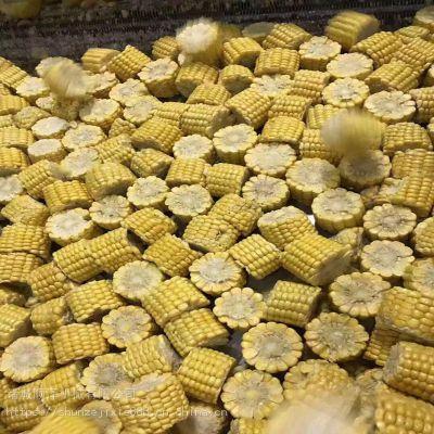 粘玉米切头去尾机 玉米速冻前切割机器