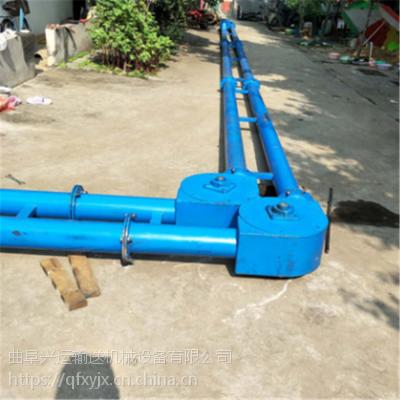 自动管链输送机新型上料设备厂家 沙子管链提升机