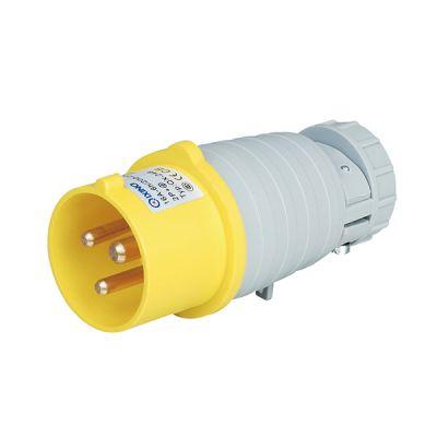 启星科技QX.023-4 32A3芯一代工业插头