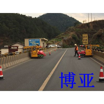 桥梁检测车 简易型可移动式作业桥梁吊篮