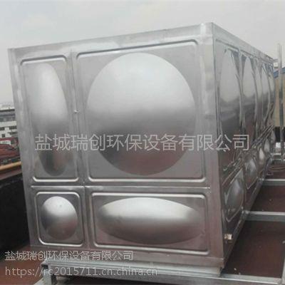 304方形不锈钢组合式水箱大型卫生级不锈钢保温水箱瑞创定制