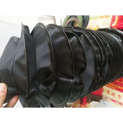 厂家定制圆形帆布防护罩 拉链式油缸防尘罩 伸缩管