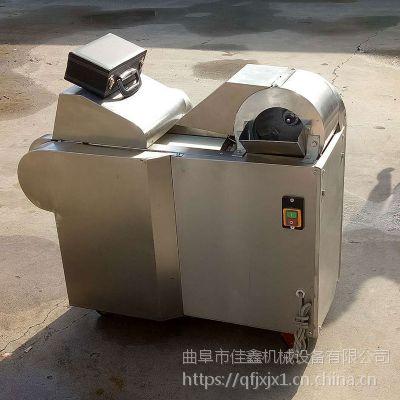 不锈钢辣椒切圈机 鹤壁萝卜切丝机厂 佳鑫豆角切丁机