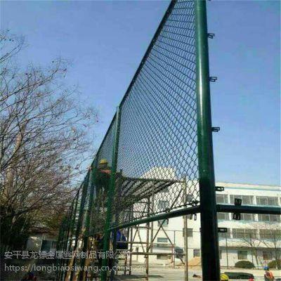 动物园隔离网 学校防护围栏网 绿色编织铁丝网