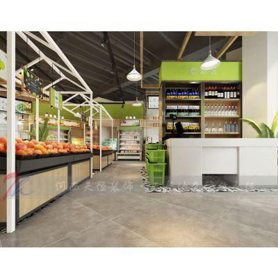 郑州水果店装修设计,为什么说装修设计的好坏往往能决定生意的好坏