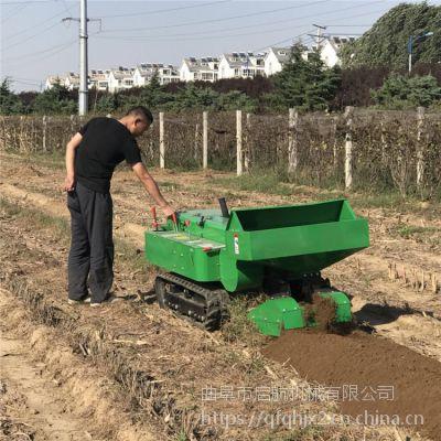 农用中耕培土机 新疆大型自动施肥机 启航果林开沟机