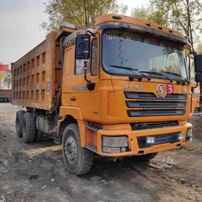 山西忻州天和煤矿转让多台陕汽德龙后八轮自卸车,340-380马力,5.6-5.8米大箱,新款奔驰后桥