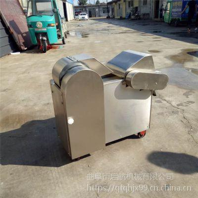咸菜腌制厂用切菜机 启航杭椒切段机 酱菜厂酸豆角切段机型号