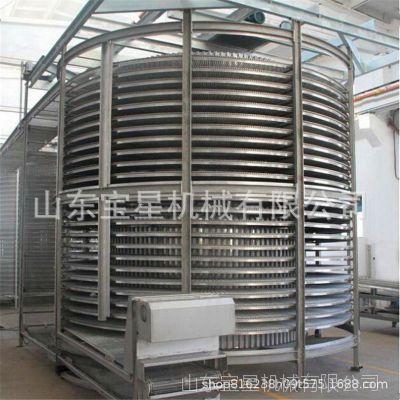 双螺旋速冻机 占地小 效率高 包菜速冻设备