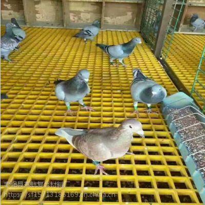 燕航格栅38*38*25养殖鸽舍地网玻璃钢格栅