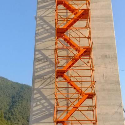 路桥安全爬梯型号尺寸香蕉式施工安全爬梯生产厂家