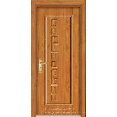 广州五羊名门 实木房间门 橡木原木套门 池板门 木门生产厂家