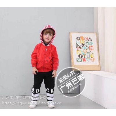 广州批发中高端品牌中小童《零也》冬季系列简约时尚库存尾货一折批发
