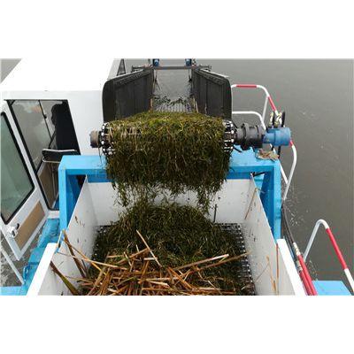 水生植物清理船、治理河道水草机械
