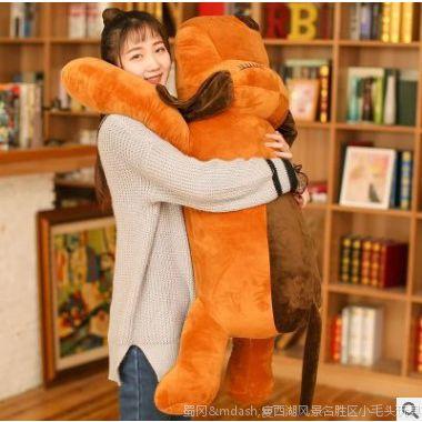 厂家直销创意可爱大号趴趴狗毛绒公仔玩偶抱枕送女朋友的礼物批发