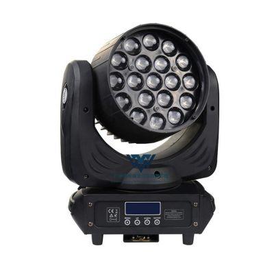19颗15W LED调焦摇头光束灯WY