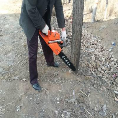 树苗汽油动力挖树机 白城树木移苗断根机 60厘米以下直径挖树机