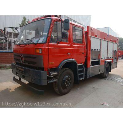 东风5吨消防车图片6吨水罐消防车价格