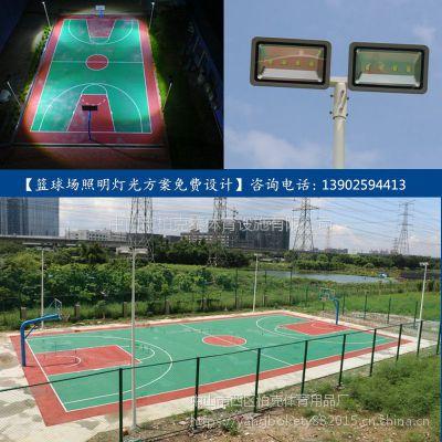 出口篮球场照明灯杆 6米路灯杆配led灯价格 优质灯柱灯杆抗台风