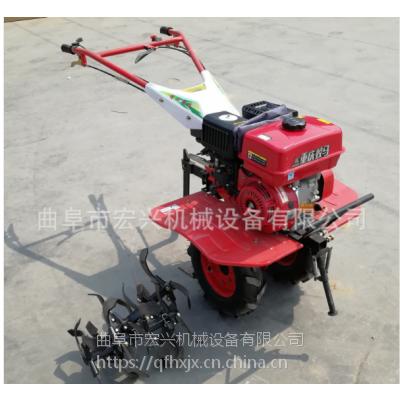 土地整理旋耕机 手推式微耕松土机 汽油式微耕机