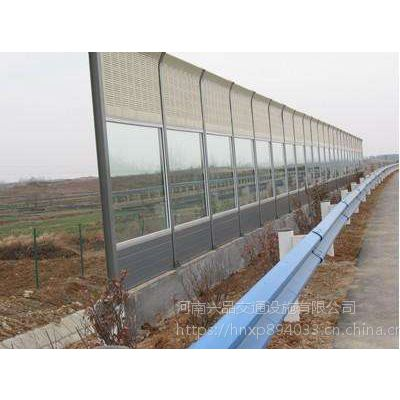 供应高速公路金属PC板声屏障 工业厂房冷却塔降噪隔音板河南厂家