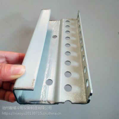 瀚博冷弯专业生产电器柜立柱成型设备