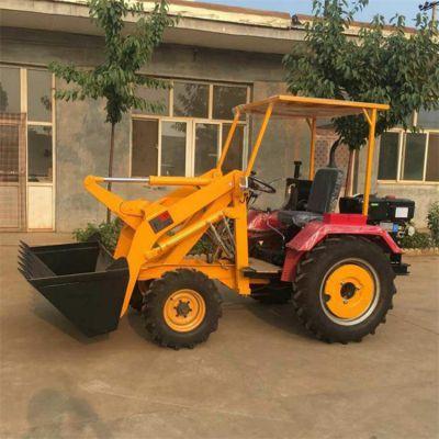 多功能小型装载机工程机械建筑砂石装载机轮式小铲车